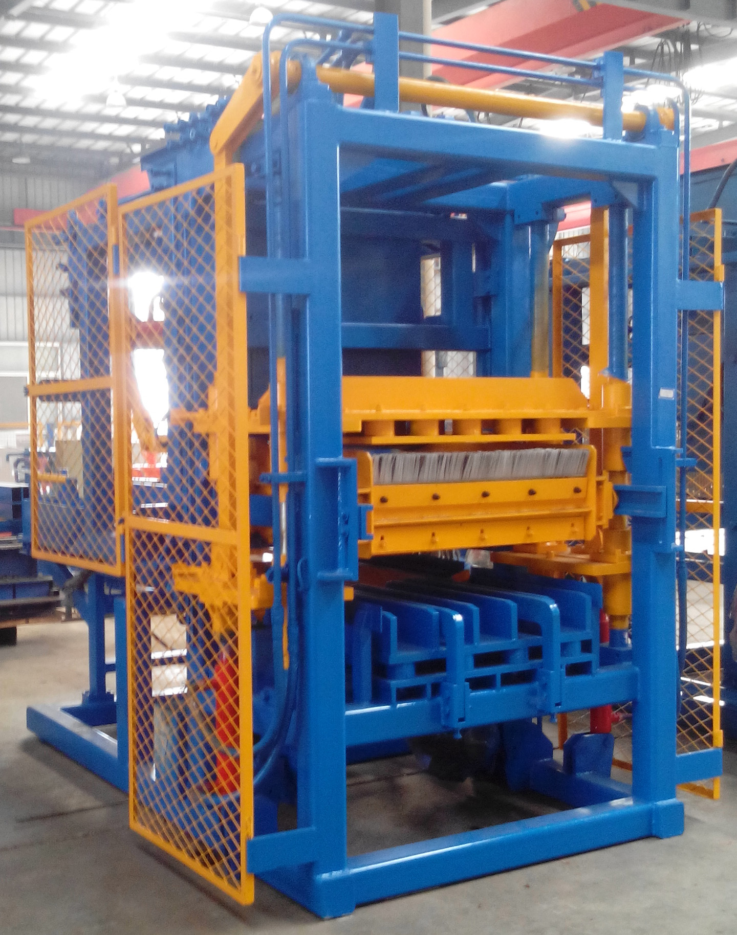 Cement Block Plant Machines : Level block machine medium production plant global