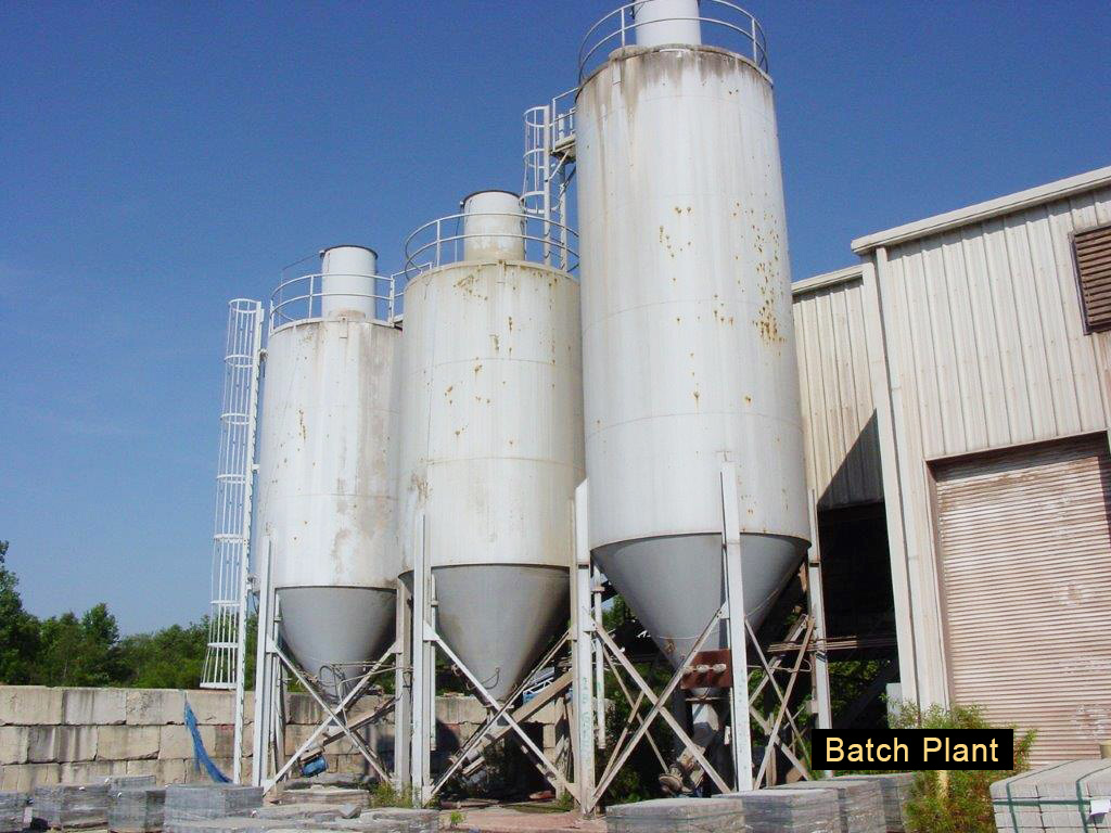 Portable Cement Mills : Concrete batch plants global machine market